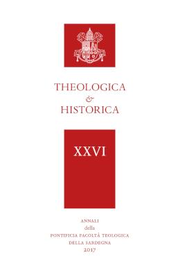 Copertina di Theologica & Historica, la rivista della Pontificia Facoltà Teologica della Sardegna