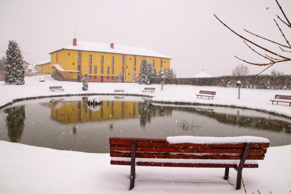 La casa di Esercizi Spirituali Manresa in Romania