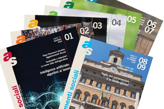 Issues of the Jesuit magazine Aggiornamenti Sociali