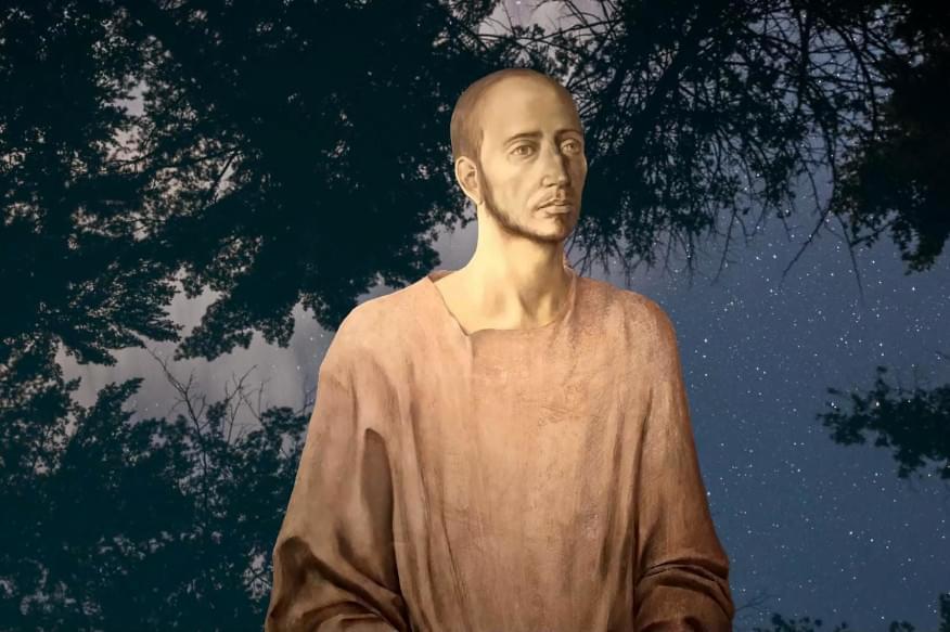 A portrait of Ignatius of Loyola as a pilgrim