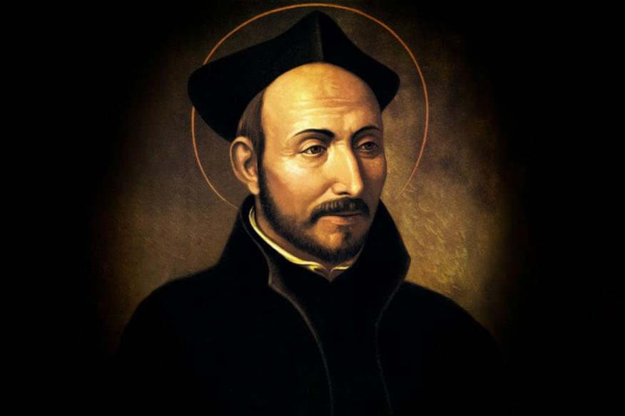 A portrait of Ignatius of Loyola, founder of the Society of Jesus (Jesuits)