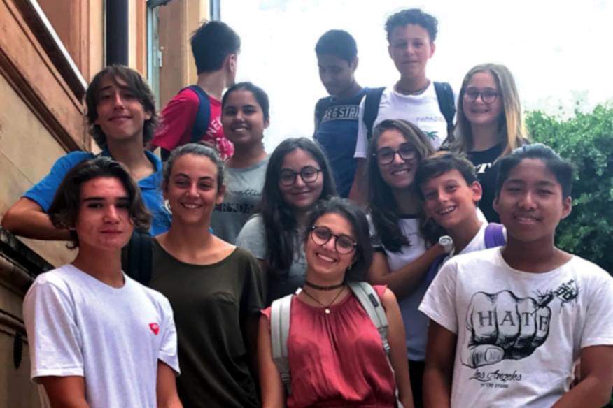 Studenti delle scuole della Fondazione Gesuiti Educazione