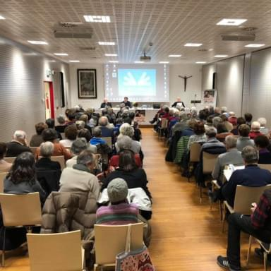 Cultural event organized by the St. Ignatius Foundation in Trento