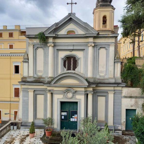 Chiesa di San Luigi Gonzaga dei padri gesuiti a Napoli